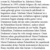 Murat Dedeman'ın Anısı Palandöken'i Aydınlattı