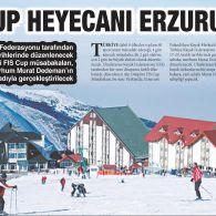 Palandöken'de Murat Dedeman FIS CUP Heyecanı!